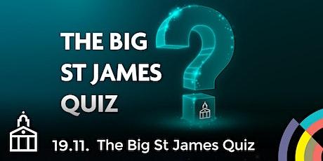 The Big St James Quiz tickets