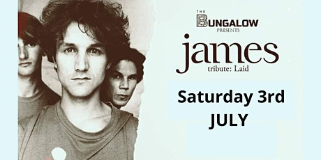 JAMES Tribute - LAID at The Bungalow, Paisley. tickets