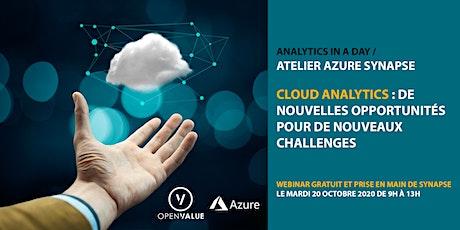 CLOUD ANALYTICS : nouvelles opportunités pour de nouveaux challenges data billets