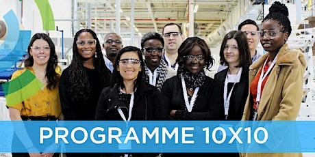 Programme 10x10: Visite en entreprise- Édition 2020 billets