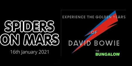 SPIDERS on MARS a tribute to DAVID BOWIE tickets