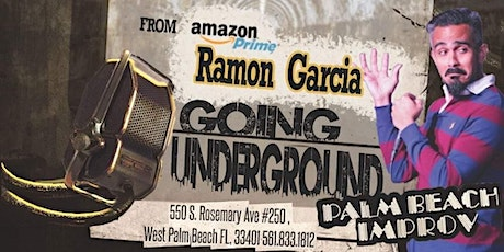 Going Underground   LIVE Stand-up Comedy  PB Improv tickets