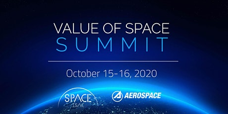 Value of Space Summit - Day One tickets