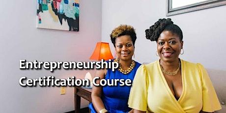 Entrepreneurship Certification Course tickets