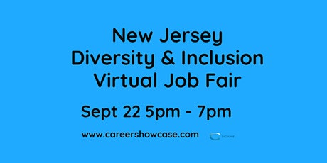 New Jersey Statewide Diversity & Inclusion Virtual Job Fair tickets