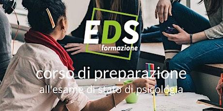 Presentazione: Corso di preparazione Esame di Stato per Psicologi biglietti