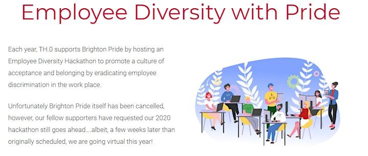 LGBTQIA+ Employee Diversity - Virtual Hackathon image