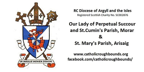 Sunday Masses in September 2020 in St. Mary's RC Church, Arisaig tickets