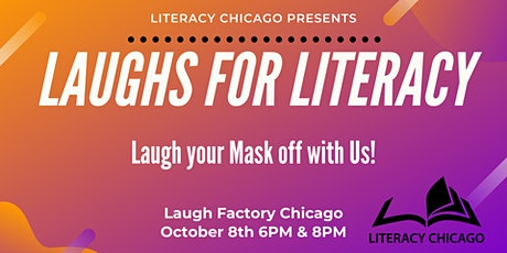 Laughs for Literacy tickets