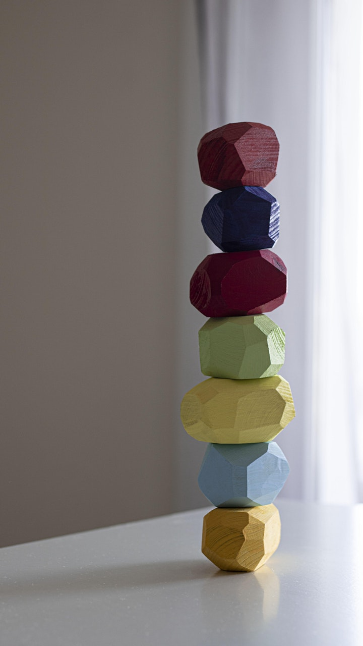 Zero Waste Tumi Ishi Balancing Blocks image