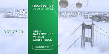 ODSC West 2020 Virtual Bootcamp || Open Data Science Conference tickets