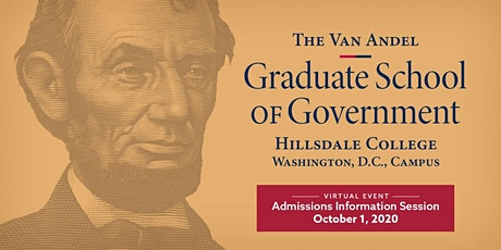 D.C. Graduate School - Virtual Admissions Information Session tickets