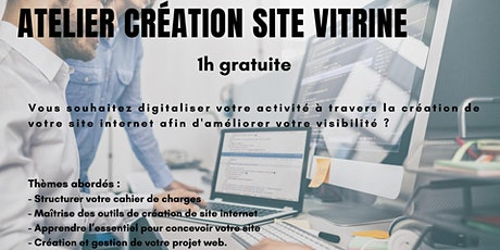 Atelier création site internet tickets