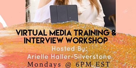 SocietyX : Virtual Media Training & Interview Workshop tickets