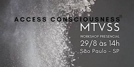 SP - ACCESS MTVSS® Formação - 29/08/20 ingressos