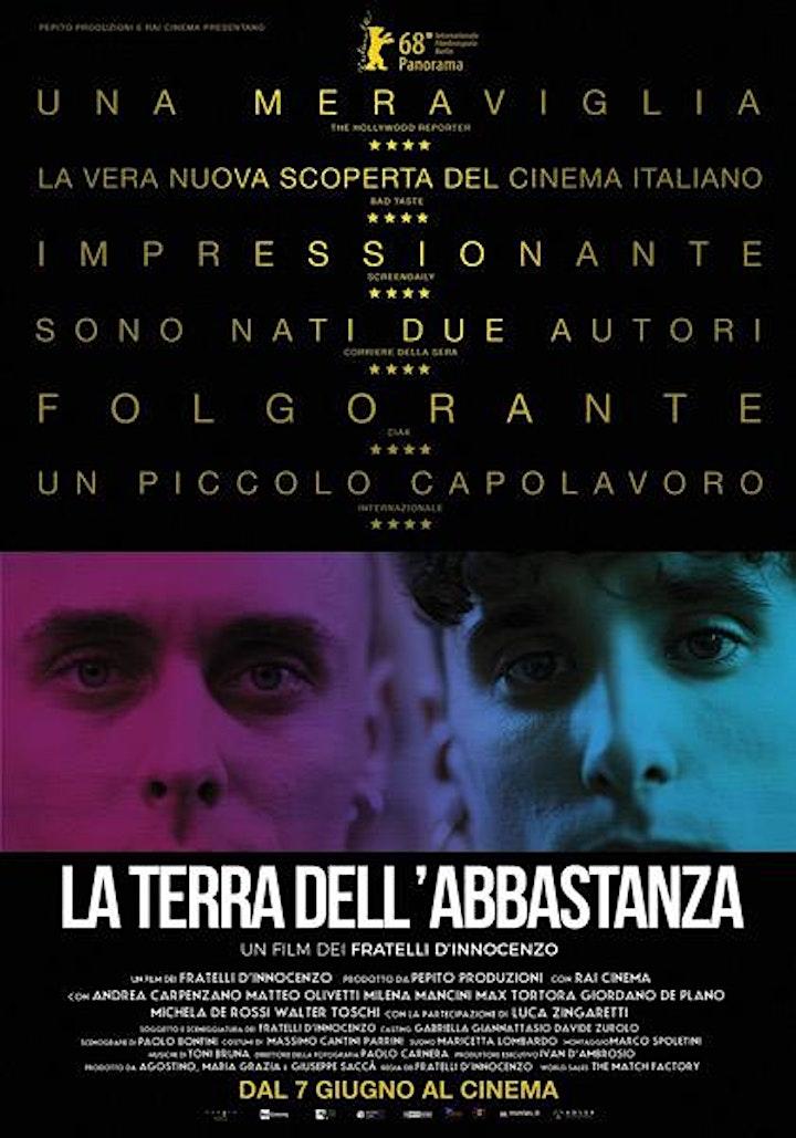 """Immagine Omaggio a Milena Mancini: proiezione film """"La terra dell'abbastanza"""""""