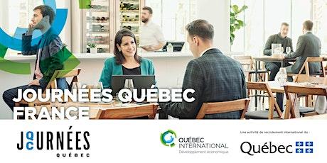 Journées Québec France tickets