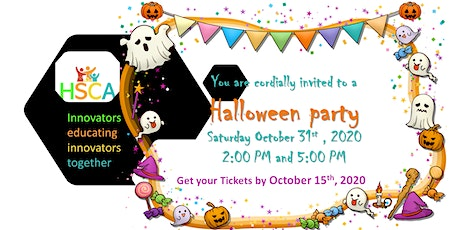 Halloween Party 2020 Ages 6-12 - 2pm tickets