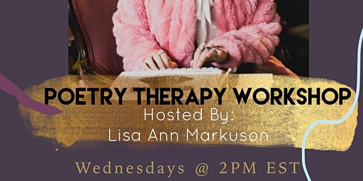 SocietyX: Poetry Therapy Workshop