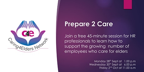 Prepare 2 Care | Free HR Session tickets