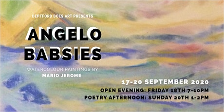 ANGELO BABSIES | WATERCOLOUR PAINTINGS BY MARIO JEROME tickets