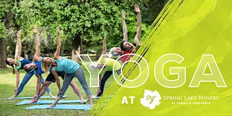 Yoga at Spring Lake tickets