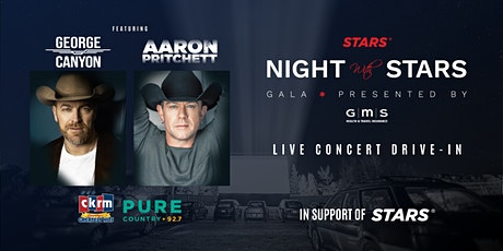 Night with STARS Drive in Concert Featuring George Canyon & Aaron Pritchett tickets