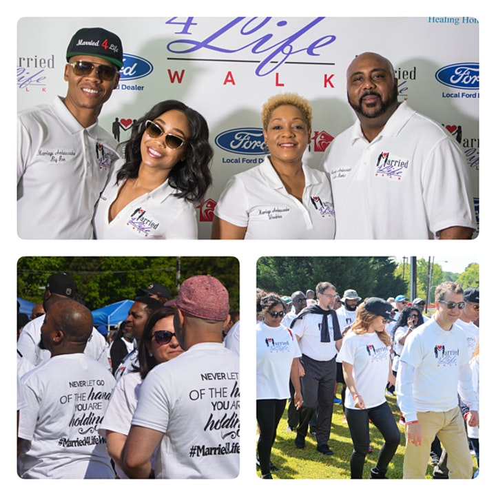4th Annual Married 4 Life Walk Virtual Experience image