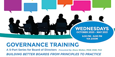 Governance Training Series 2020-21 tickets