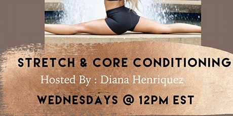 SocietyX:  Stretch & Core Conditioning Class tickets