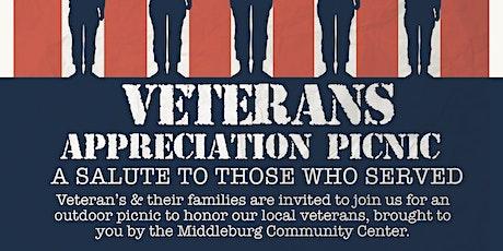 Veterans  Appreciation Picnic tickets