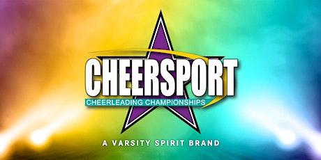 CHEERSPORT PITTSBURGH GRAND CHAMPIONSHIP 2020-2021 tickets
