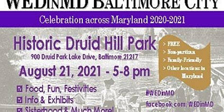 WEDinMD Baltimore City tickets