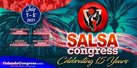 Orlando Salsa Congress 2021 tickets