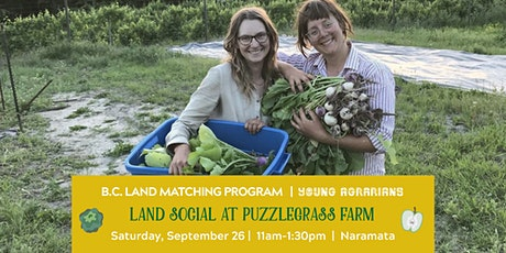 Land Social at Puzzlegrass Farm tickets