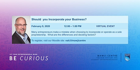 Should I Incorporate my Business? tickets
