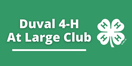 Duval County 4-H At Large Meetings tickets