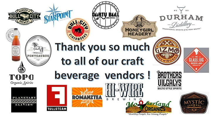 Animal Protection Society of Durham Craft Beverage Festival 2021 image