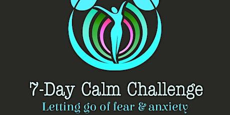 7-Day Calm Challenge tickets