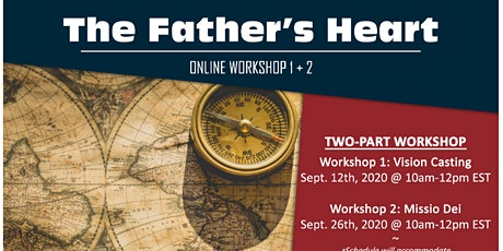 **The Father's Heart - Part 1 and Part 2** tickets