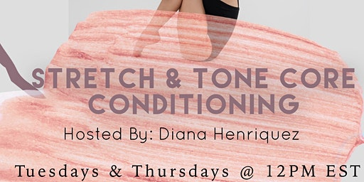 SocietyX:  Stretch & Tone Core Conditioning Class