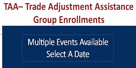 TAA Group Enrollments tickets