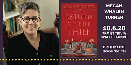 Megan Whalen Turner: Return of the Thief LAUNCH tickets