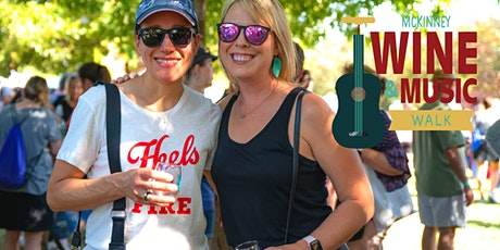 Mckinney Wine & Music Walk presented by Goldstar Appliances & Lighting tickets