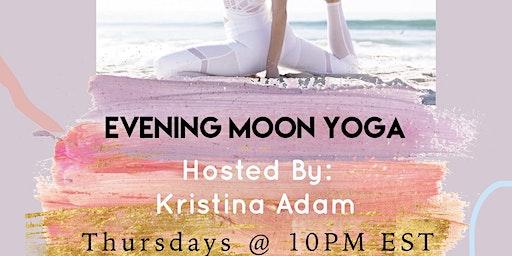 Evening Moon YogaWwith SocietyX