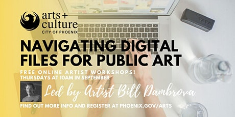 Navigating Digital Files for Public Art tickets