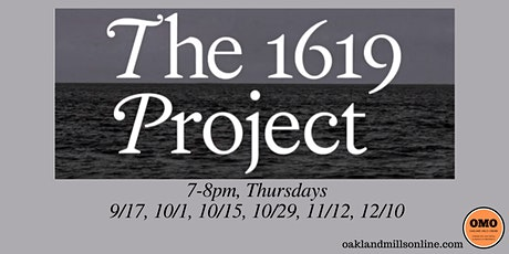 The 1619 Project Study Group tickets