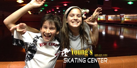 SATURDAY EVENING OPEN SKATE - 7:00 PM - 9:30 PM tickets