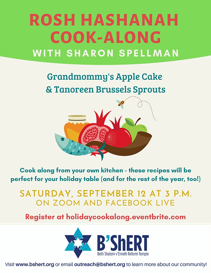 Rosh Hashanah Cook-Along with Sharon Spellman image