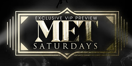 """Met Saturdays"" at Opera SupperClub tickets"